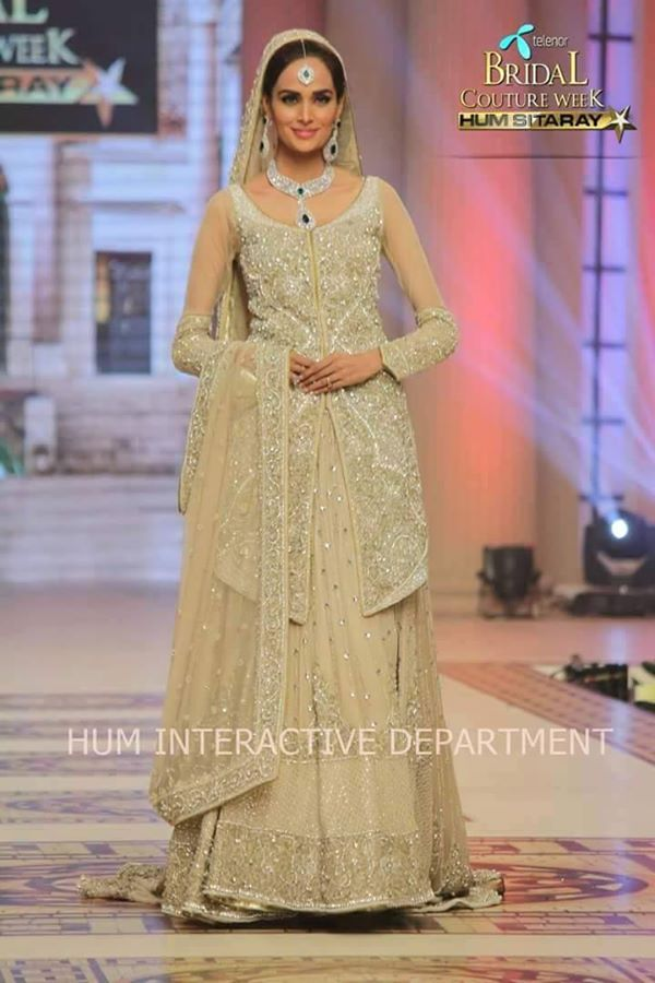 Pakistani Designer Bridal Dresses at Telenor Bridal Couture Week