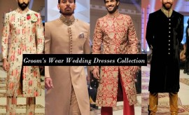Latest Pakistani Designer Wedding Wear Grooms'/Dulha Dresses 2017 Designs