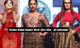 Telenor Bridal Couture Week HUM SITARAY – TBCW all Collections