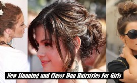 Stylish and Beautiful Bun Hairstyles for Long Hair – Bun Hairstyle Pictures