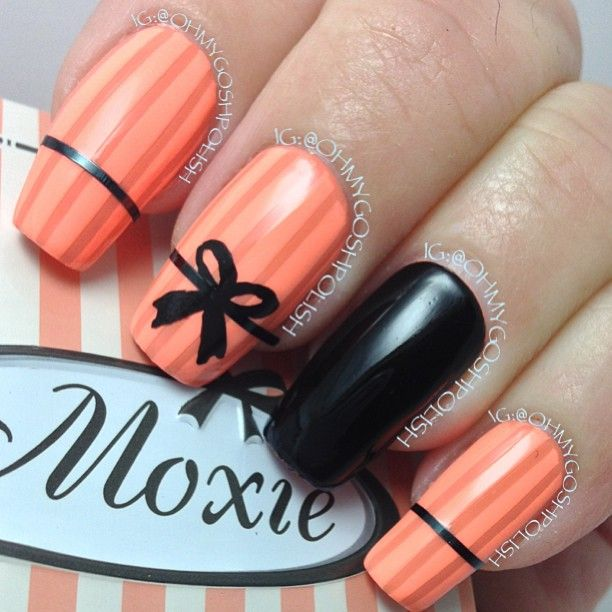 Best-Bow-Nail-Art-designs-with-Tutorials (16)