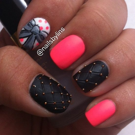 Best-Bow-Nail-Art-designs-with-Tutorials (17)