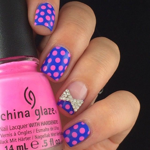 Best-Bow-Nail-Art-designs-with-Tutorials (24)