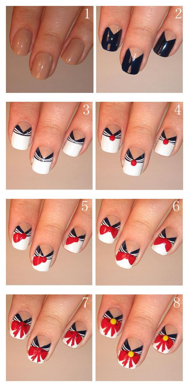 Best-Bow-Nail-Art-designs-with-Tutorials (3)
