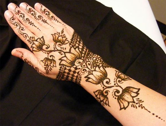 Mehndi Design Tutorials for beginners