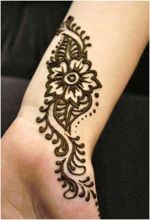 Mehndi Design for beginners