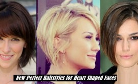 Best Hairstyles for Heart Shaped Faces – New Heart Shaped Hairstyles