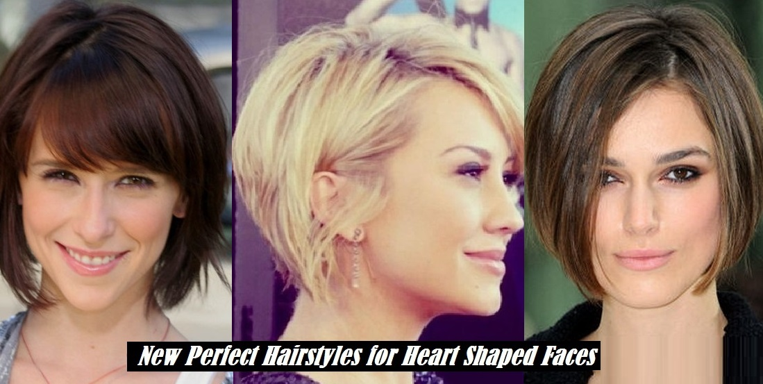Heart Shaped Face Hairstyles Classy Heart Shaped Hairstyles