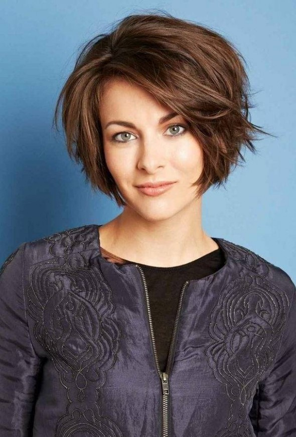 Heart Shaped Face Hairstyles - Classy Heart Shaped Hairstyles