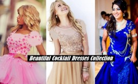 Formal Fancy Party Wear Cocktail Gowns and Cocktail Dresses 2017-2018 Trends