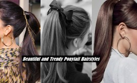Stylish Ponytail Hairstyles with Tutorials for Short & Long Hair – Trendy Ponytails
