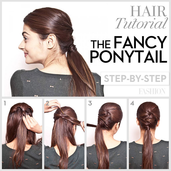 Wondrous Ponytail Hairstyles With Tutorials For Short Amp Long Hair Trendy Short Hairstyles Gunalazisus