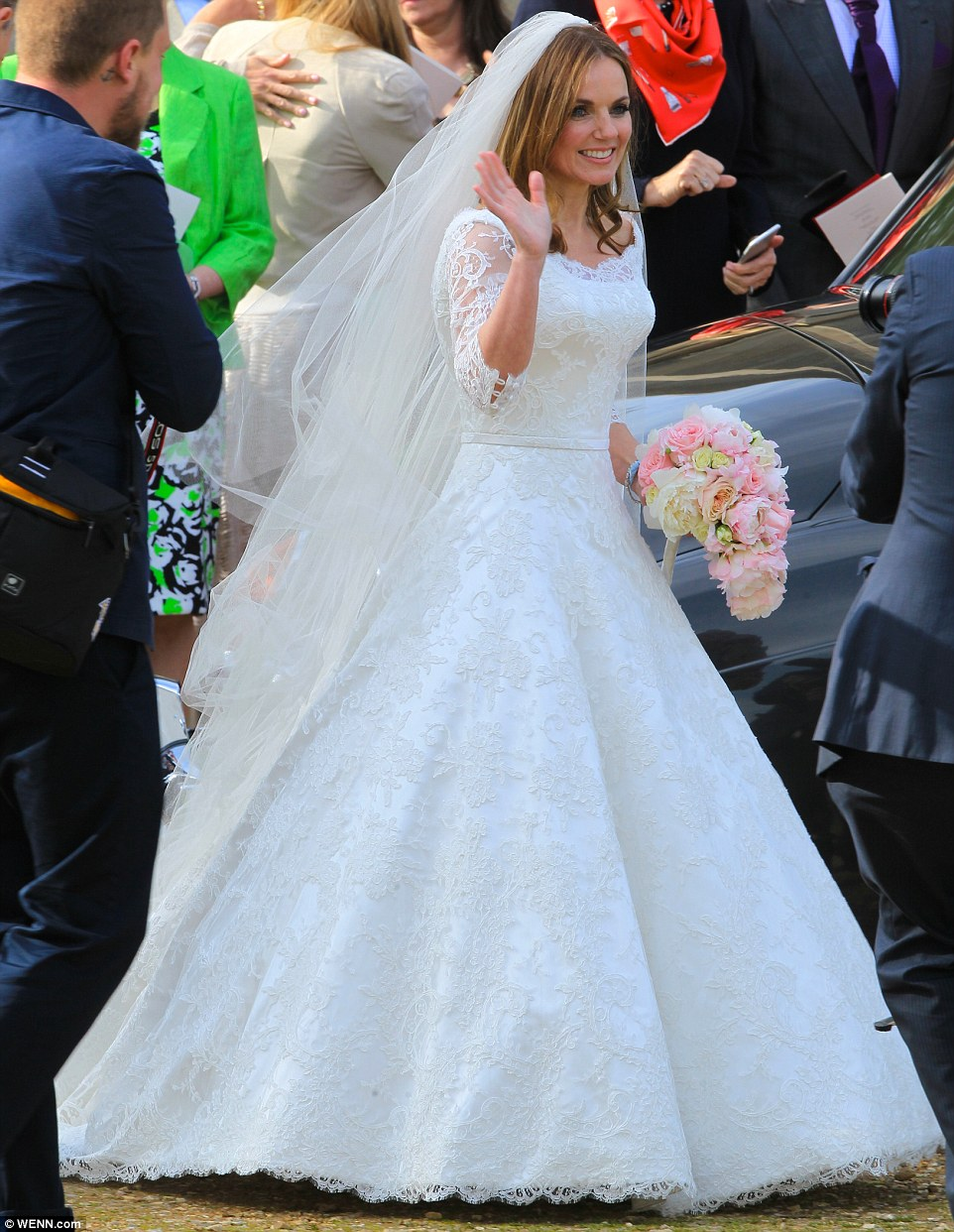 Christian celebrity wedding dresses