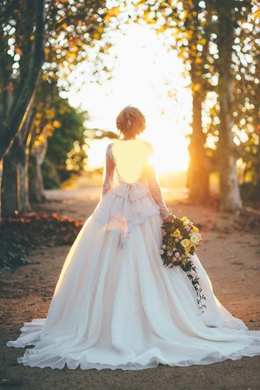 Beautiful Christian wedding dress