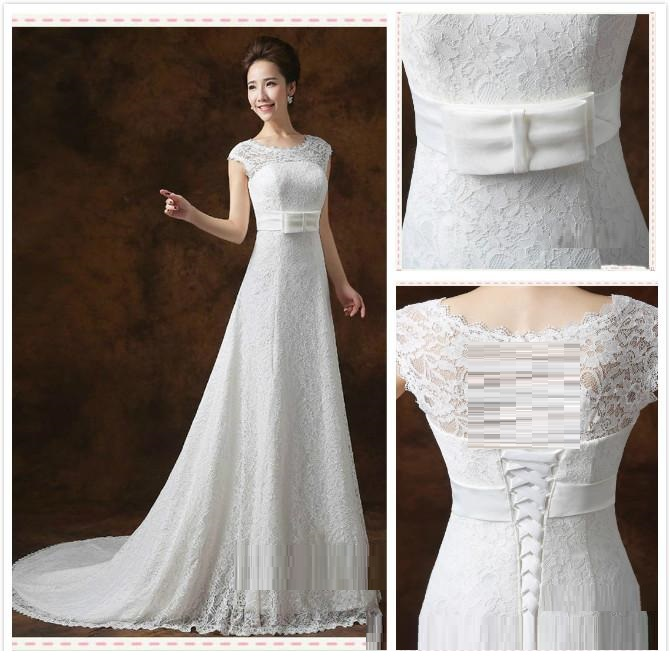 Doll Christian wedding dress
