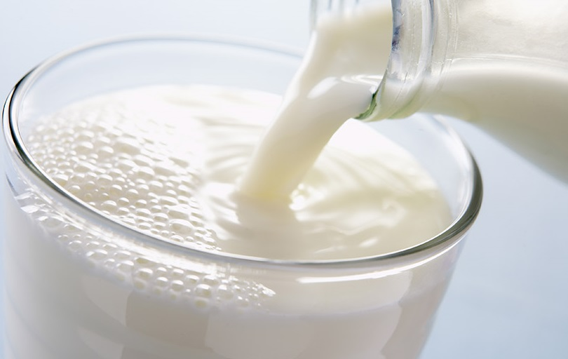 Whole Milk for thick eyebrows