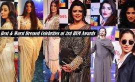 Top 10 Best Dressed & Worst Dressed Celebrities at 3rd Hum Awards