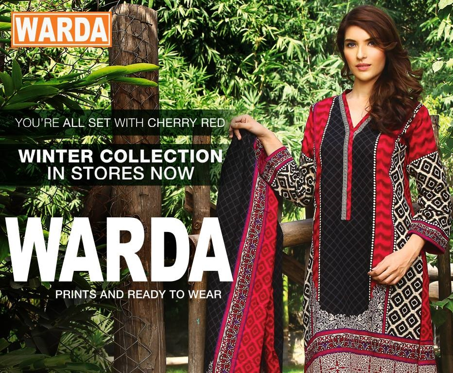 Warda Winter Dresses
