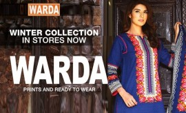 Warda New Winter Collection 2015-2016 Complete Catalog with Prices