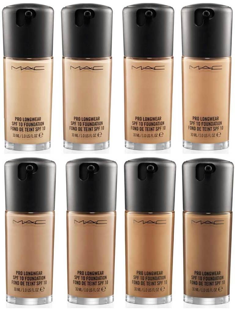 MAC liquid foundation for dark skin tone