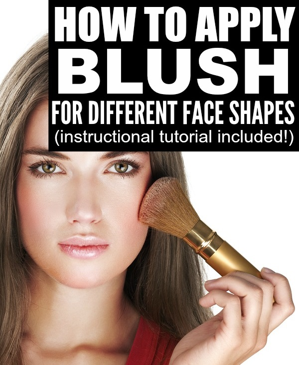 blush application tutorial