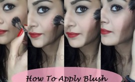 How to apply Blush On Perfectly, Step by Step Tutorial