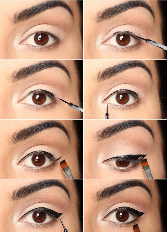 Learn How To Apply Winged Eyeliner?