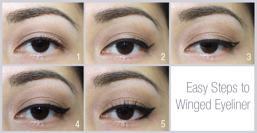Winged Eyeliner Tutorial Learn How To Apply Winged Eyeliner