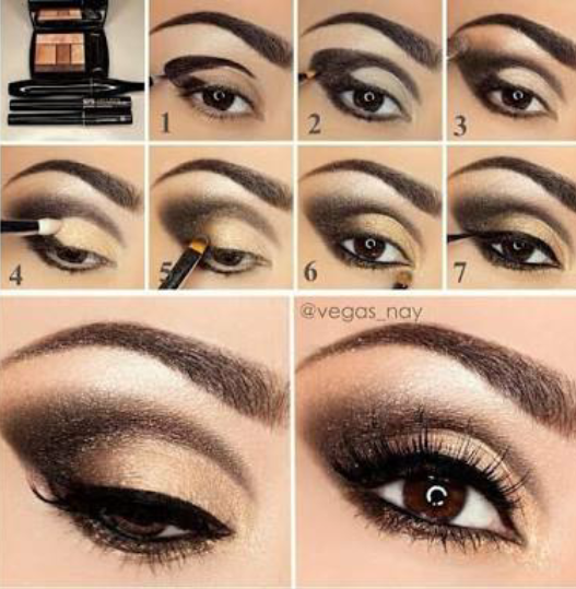 How-to-do-shimmery-face-makeup-tutorial (8)