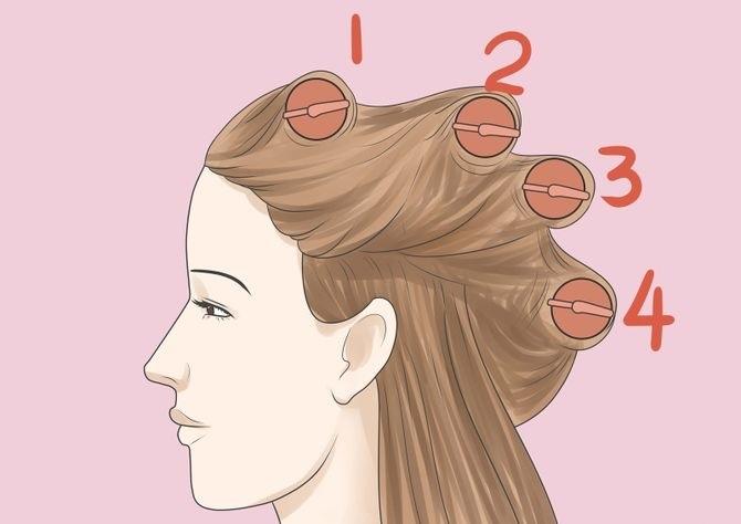 hot hair roller tutorial
