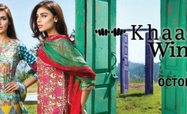 Khaadi Fall Winter Embroidered Dresses Complete Catalog 2015-2016