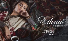 Outfitters Ethnic Winter Dresses Collection 2017-2018 Complete Catalog