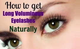 Best Natural Tips to get Long Eyelashes Naturally at Home DIY