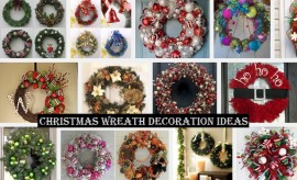 DIY Christmas Wreath Decoration Ideas 2017 with Tutorials and Pictures