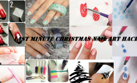 Easy Last Minute Christmas Nail Art Hacks – Manicure Tricks for Holiday Season