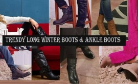 Stylish Long Winter Boots and Ankle Boots For Men and Women