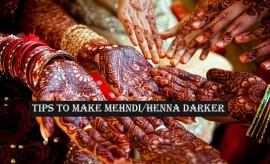 How to Make Mehndi Darker? – Best Tips to Make Henna Darker
