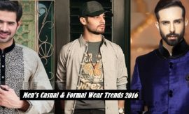Men's Casual and Formal Wear Trendy Colors and Fashion Trends 2016 in Pakistan