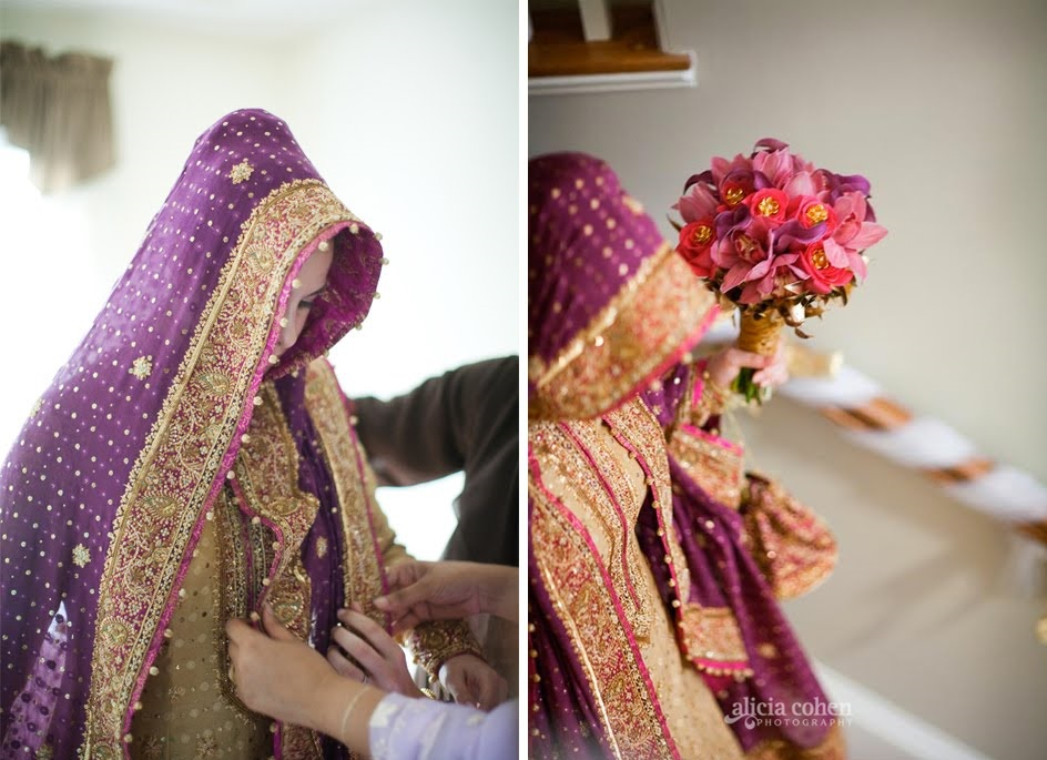 bridal dupatta setting tutorial
