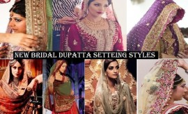 How to Set Bridal Dupatta? Best Bridal Dupatta Draping Styles New Trends