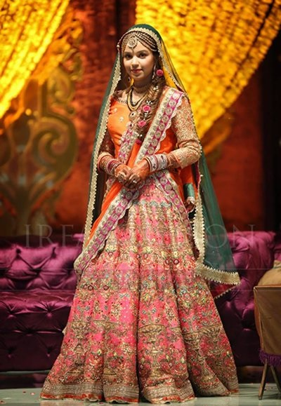 bridal dupatta setting styles 20162017 how to set