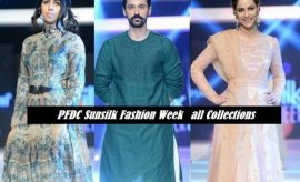 PFDC Sunsilk Fashion Week 2016 All Collections – PSFW Ramp Walk