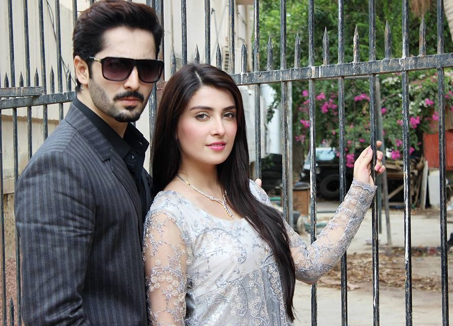 Ayeza Khan with husband Danish Taimoor