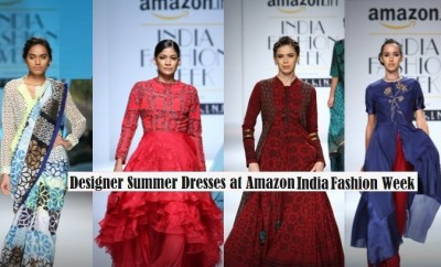 Designer-summer-Dresses-2016-2017-at-Amazon-India-Fashion-Week