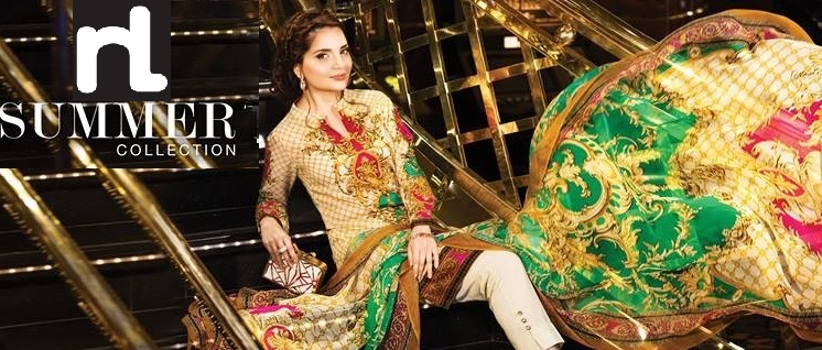 nishat linen summer collection featuring Armeena Rana Khan