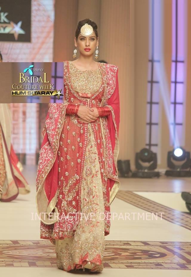 Hajra-Hayat-bridal-collection-at-telenor-bridal-couture-week-1
