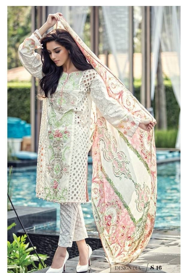 1d9c00d2c3 Pakistani Designer Lawn Summer Suits 2018 designs