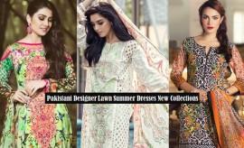 Pakistani Designer Summer Lawn Dresses for Women