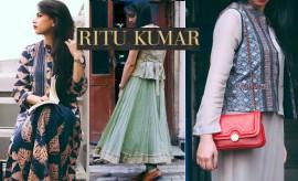 Ritu Kumar Designer Spring Summer Dresses 2016-2017 Collection