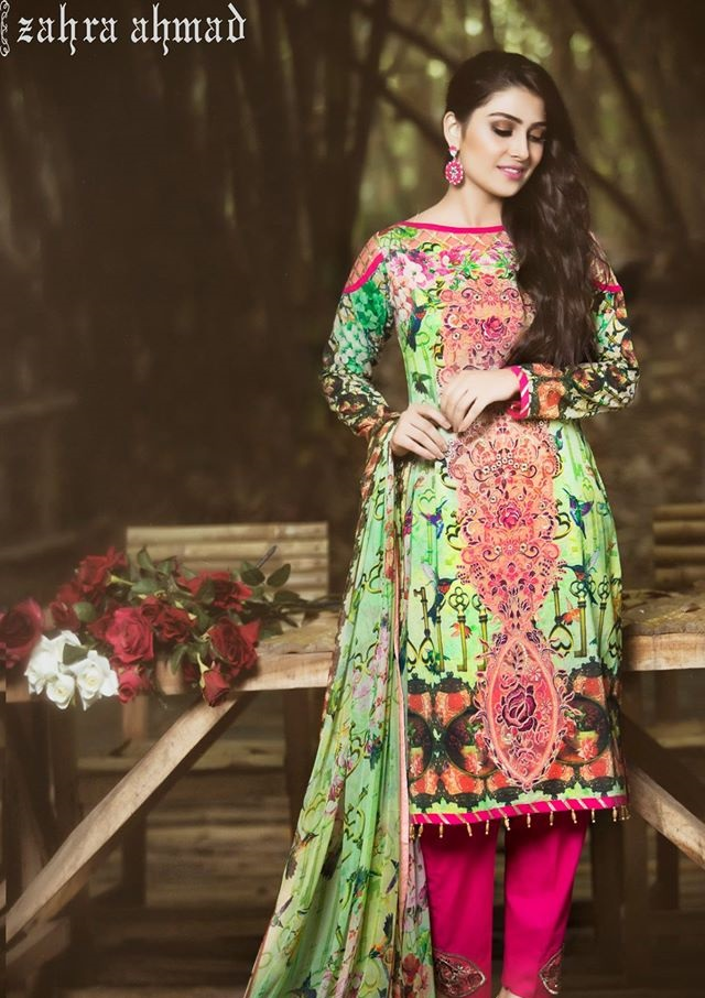 New Designer Lawn Suits 2016-2017